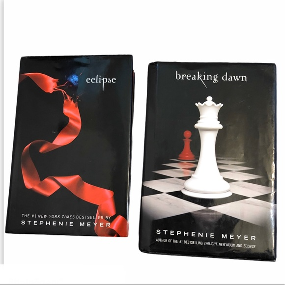 Twilight series books Eclipse, Breaking Dawn